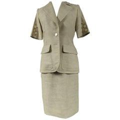 Yves Saint Laurent Skirt Suit, circa 1990