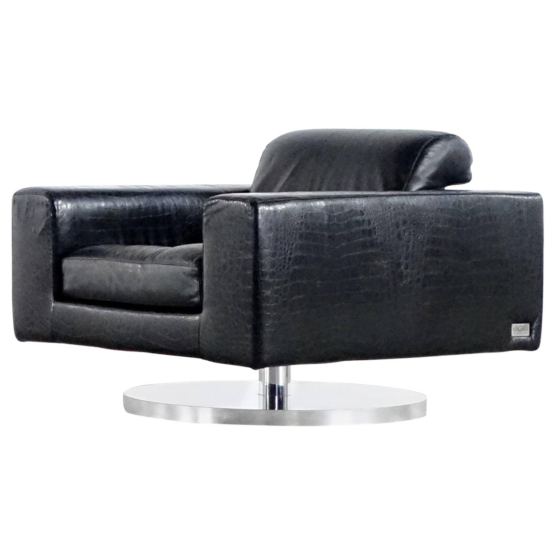 Vladimir Kagan swivel lounge chair, 1969