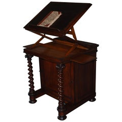 19th Century Oakwood Lectern Made by Robert Strahan