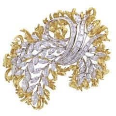 Van Cleef & Arpels  Diamond Brooch