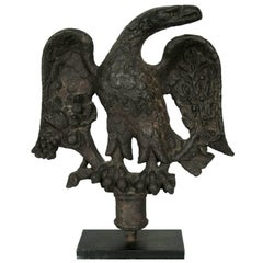 American Federal Period Cast Iron Eagle