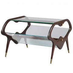 Charming Coffee Table Designed Cesare Lacca, Italy, 1950