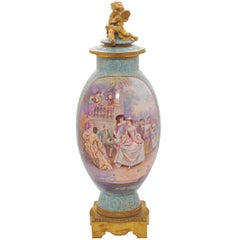Large 19th Century Sèvres Vase