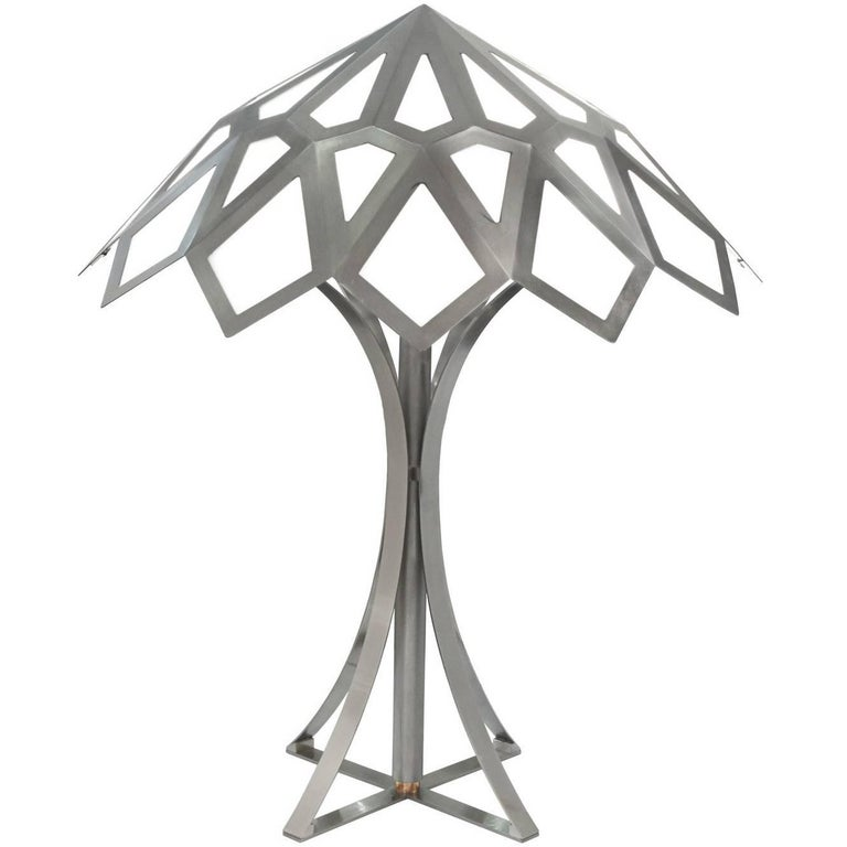 """Gabriella Crespi Rare and Exceptional Large """"Caleidoscopo"""" Table Lamp, 1974 For Sale"""