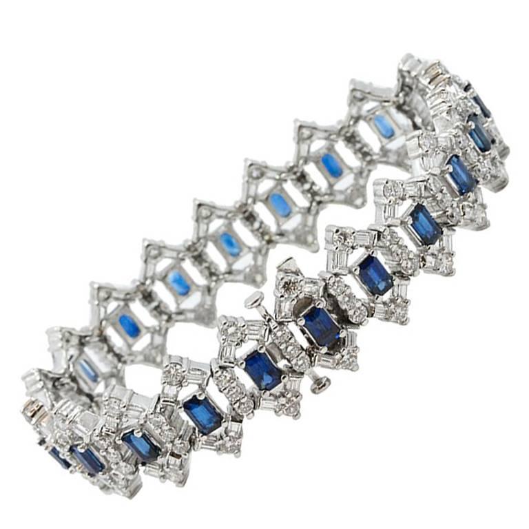 Winston Cluster by Harry Winston Diamond Bracelet