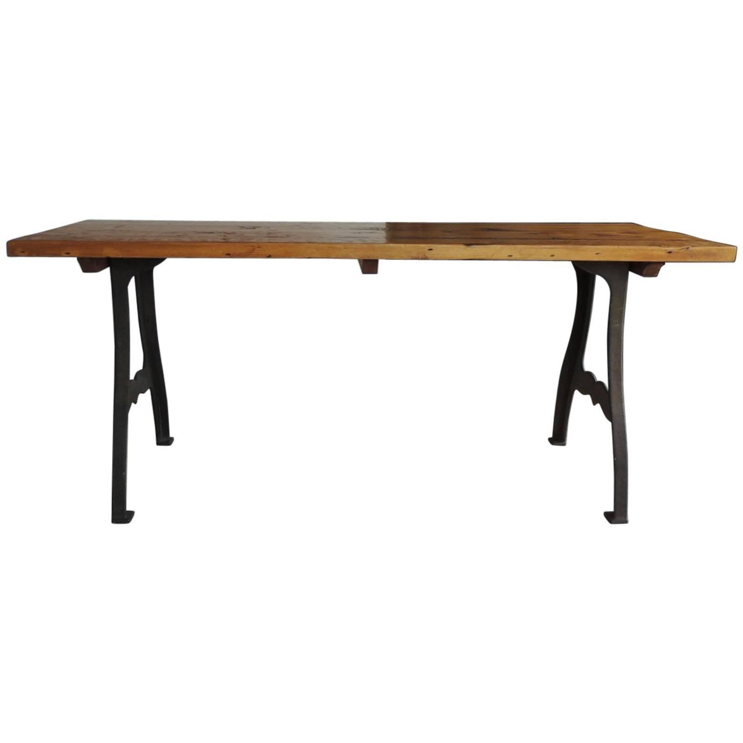 Amazoncom industrial dining table