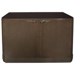 Grey Walnut Sideboard or Cabinet Designed by Lorin Jackson for Grosfeld House