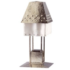 Jugendstil Josef Hoffmann & Wiener Werkstaette Table Lamp Re-Edition