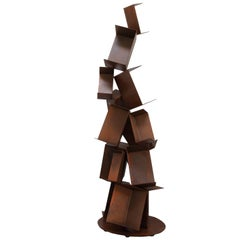 Gianluca Pacchioni, Collapse Bookcase, 2014