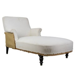 French 19th Century Chaise Lounge