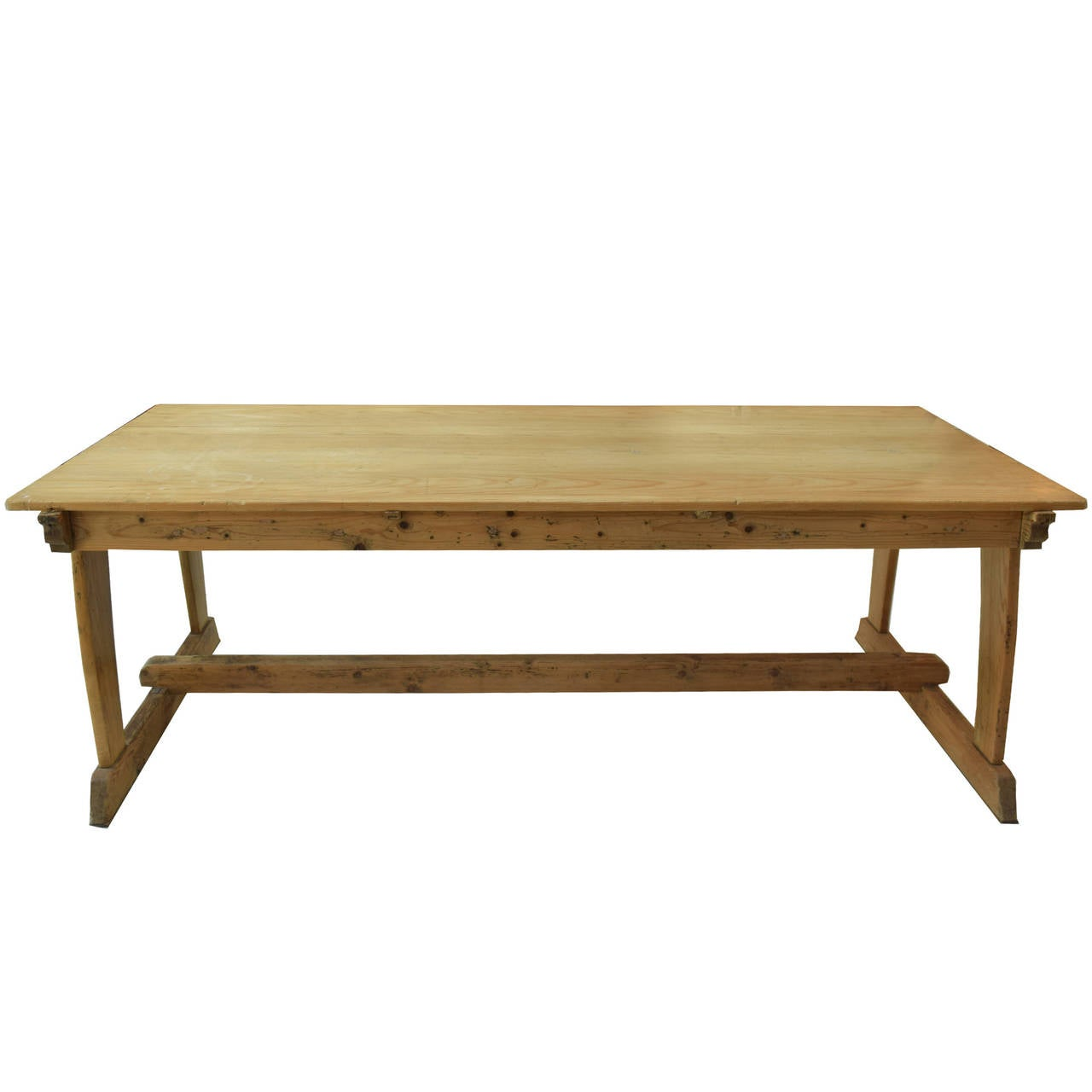 Trestle table, early 20th century