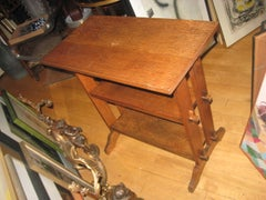 Three Roycroft Journey Tables/Book Stands