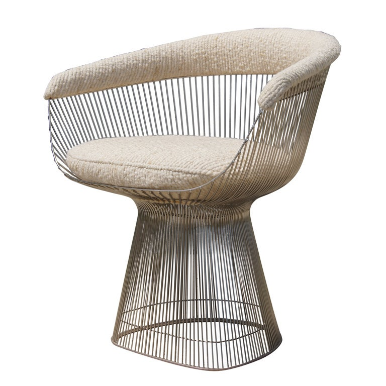 Warren Platner Armchair For Knoll At 1stdibs