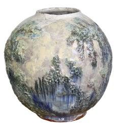 American Arts & Crafts Pottery Vase