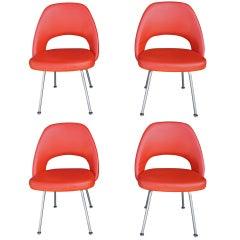 Eero Saarinen for Knoll 72U Chair; Set of Four