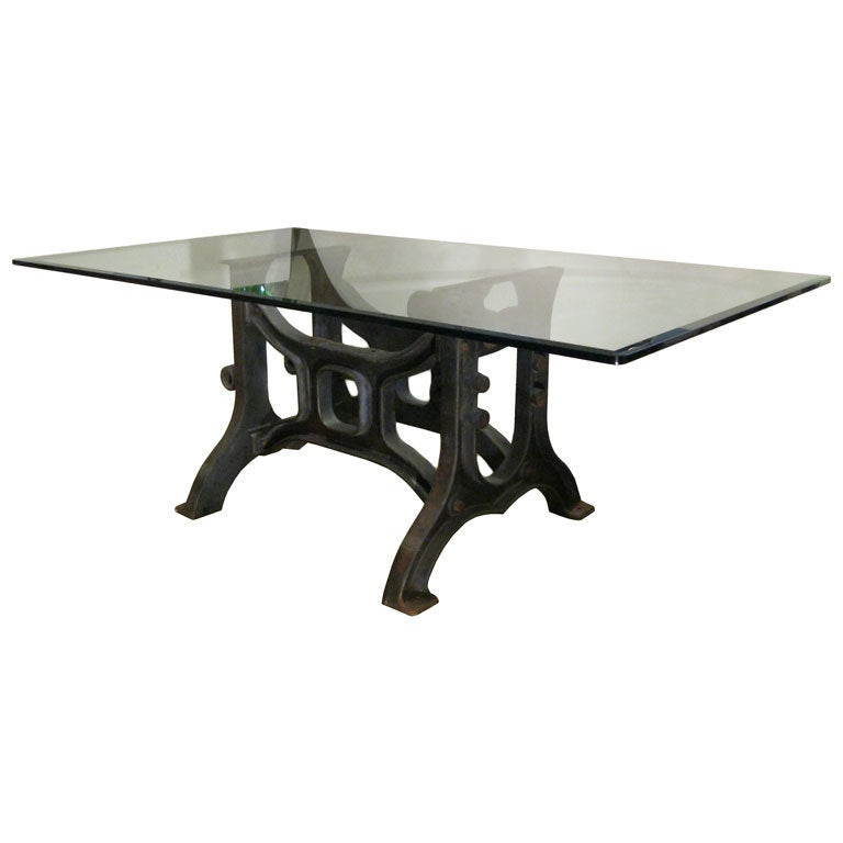 Industrial Dining Table At Stdibs
