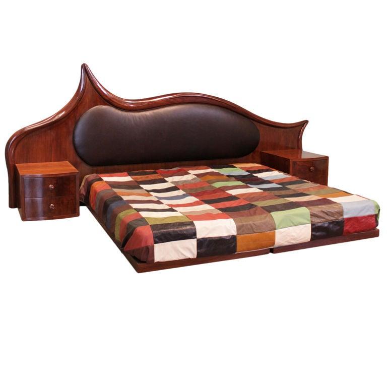 Antique Walnut Bed  eBay