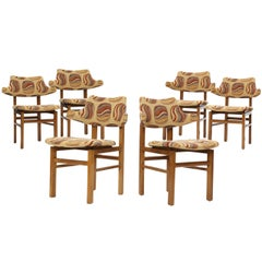 1950s Set of Six Dining Chairs by Edward Wormley for Dunbar
