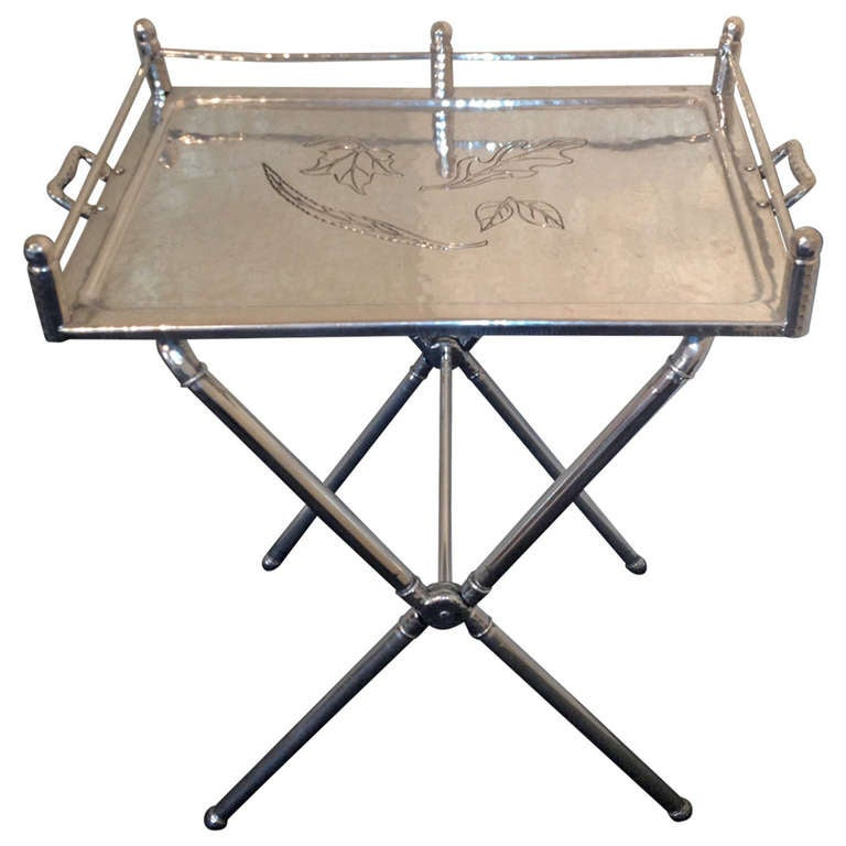 Bar tray table