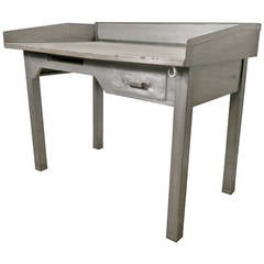 Mid-20th Century Metal Postmaster Desk