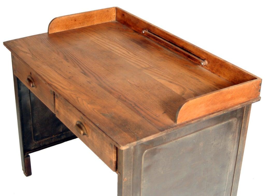 Small industrial desk