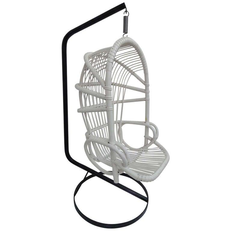 Rohe Noordwolde Parrot hanging chair, 1960s