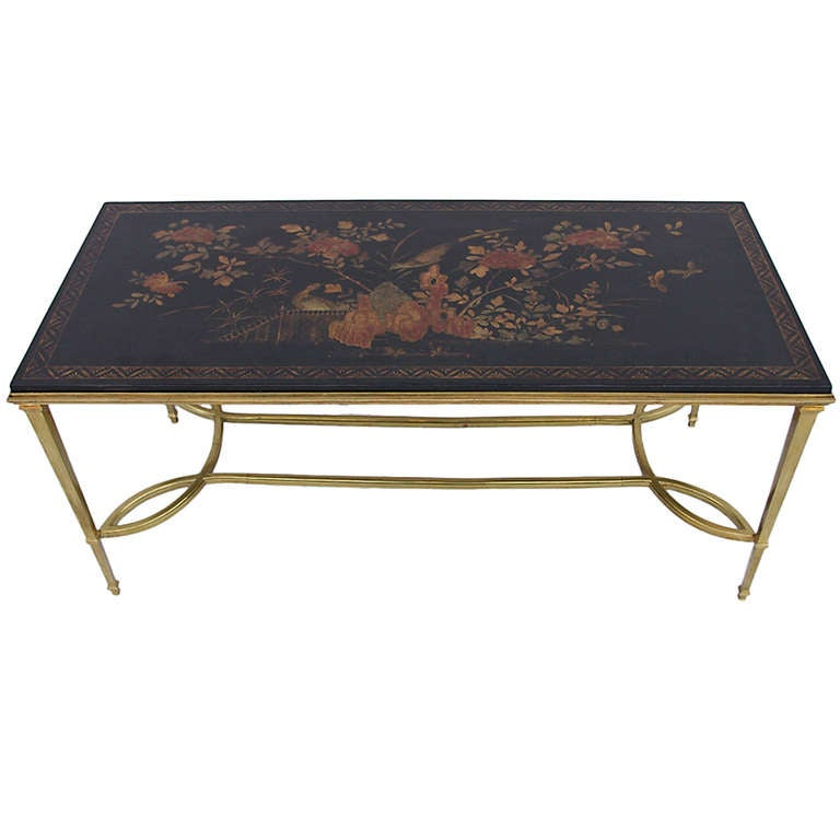Black lacquer coffee table pictures