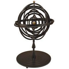 20th c. Iron Armillary Sphere