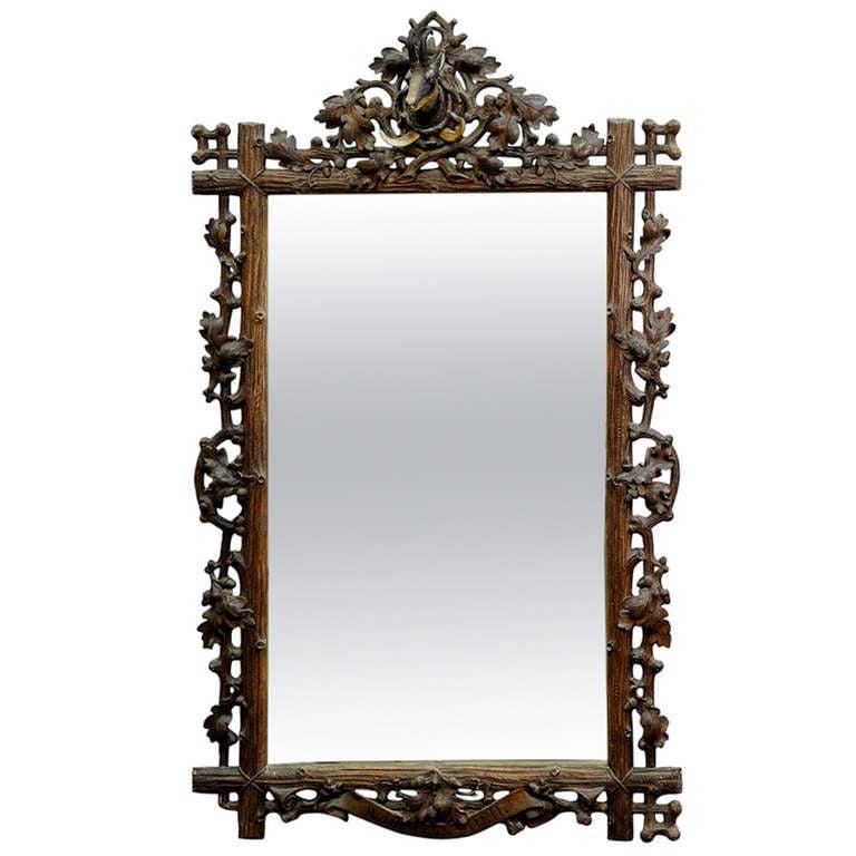 Black full length mirror sale