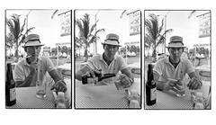 Hunter S. Thompson, Cozumel, Mexico, March, 1974