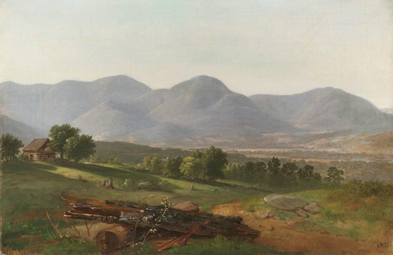 Dutchess County, New York,19th century, by Asher Brown Durand