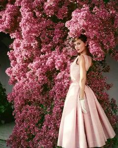 Audrey Hepburn with Flowers