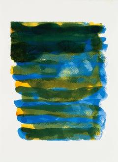 Emily Berger, Wellfleet , 2014, Paper, ink