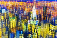 Manhattan Buildings Blur