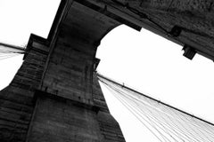 'Brooklyn Bridge' New York (Silver Gelatin Print)