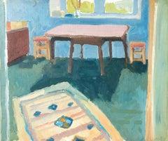 Studio Interior Oil Painting, British Artist