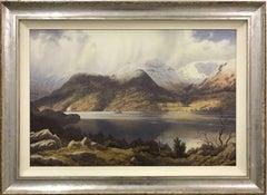 British Landscape Painting of Glencoyne Ullswater English Lake District Cumbria