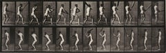 Animal Locomotion: Plate 293 (Nude Man Playing Cricket), 1887