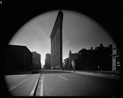 Flatiron Building, New York City, USA, 1969 - Black and White Photography