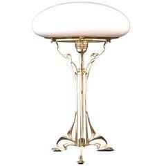 Austro-Hungarian  Floral Viennese Jugendstil Table Lamp