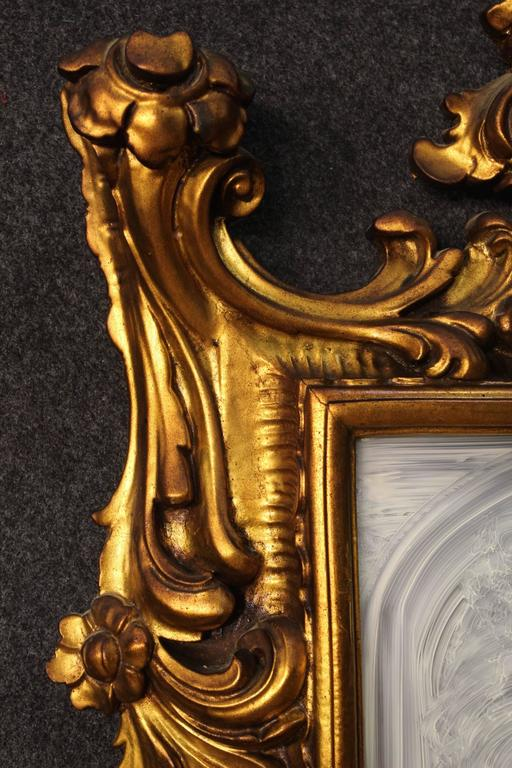 This Th Century Italian Gilded Mirror Is No Longer Available