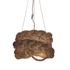 Bride Pendant Medium Brown-Ceiling Lamp Created from Paper