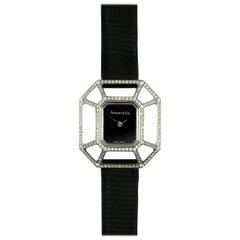 Tiffany & Co. Paloma Picasso Ladies White Gold Diamond Puzzlewatch Wristwatch