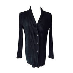 Pleated Blazer by Issey Myake