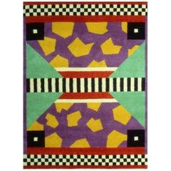 Arizona Woolen Carpet, by Nathalie Du Pasquier from Memphis Milano