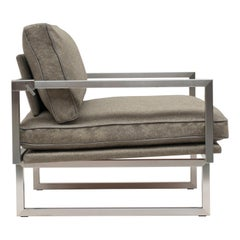 Armchair Urban GP01 Stainless Steel Matt, Natural Classics Style