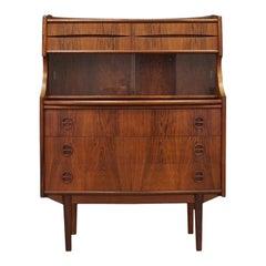 Arne Vodder Rosewood Secrétaire Scandinavian Design Vintage, 1960s
