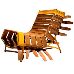 """Arreio"" Armchair, Contemporary Brazilian Design"