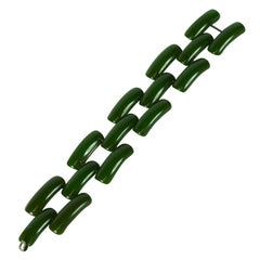 Art Deco Bakelite Link Bracelet