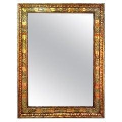 Art Deco Era Nena Claiborne Hand Painted Mirror